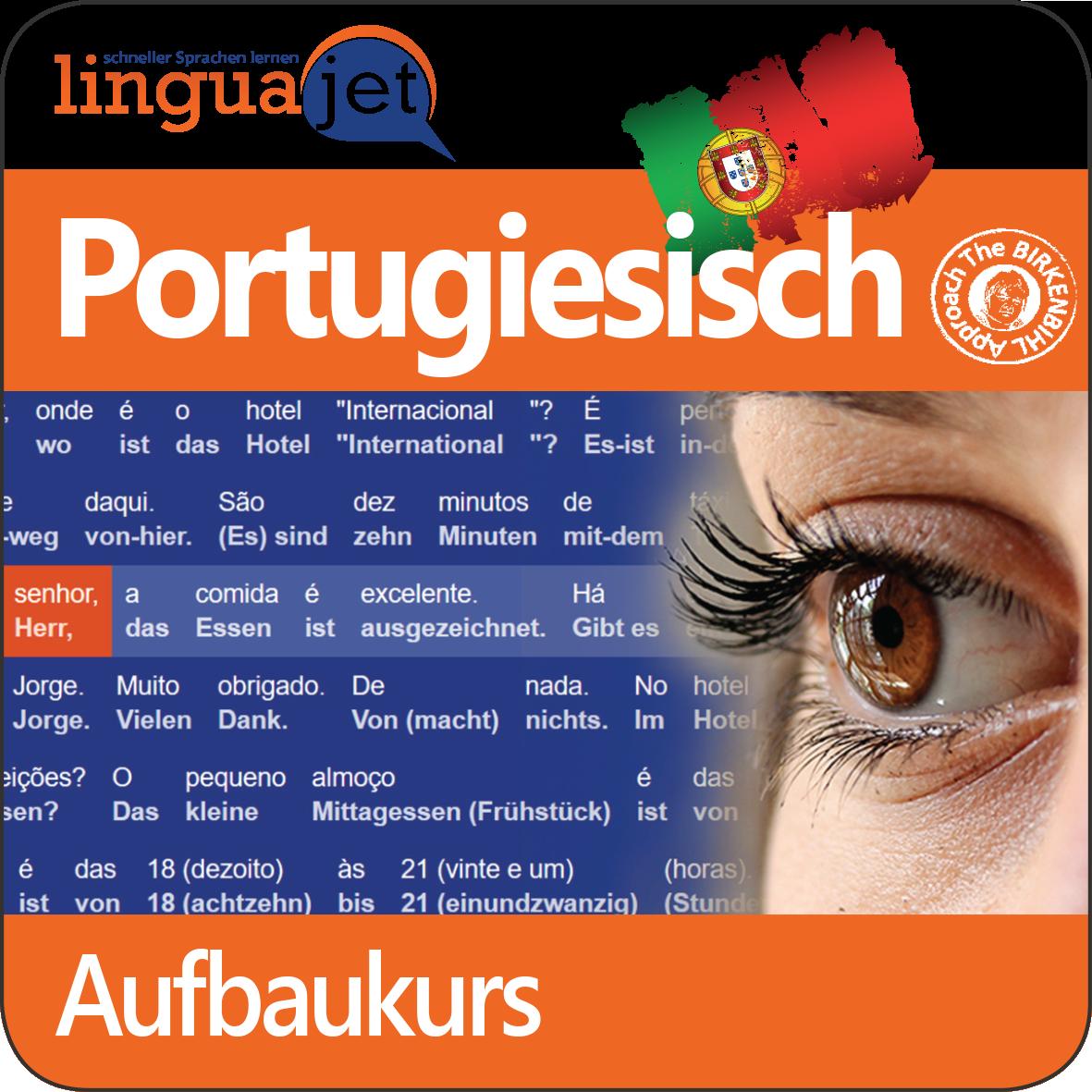 Mit dem online Portugiesisch Kurs «Aufbau» lernen Sie sich zu unterhalten