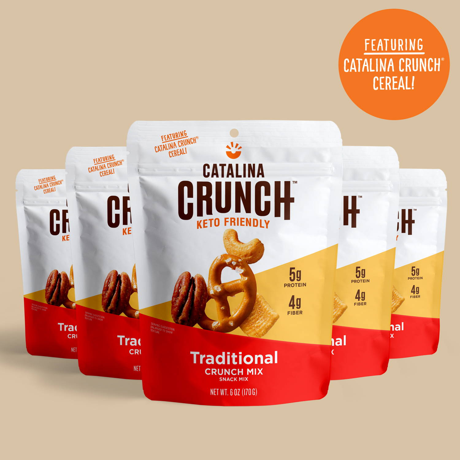 Traditional Keto Snack Mix - Catalina Crunch