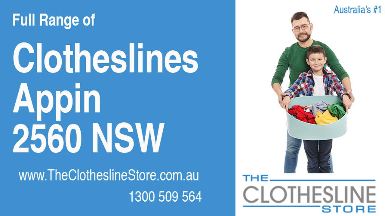 New Clotheslines in Appin 2560 NSW