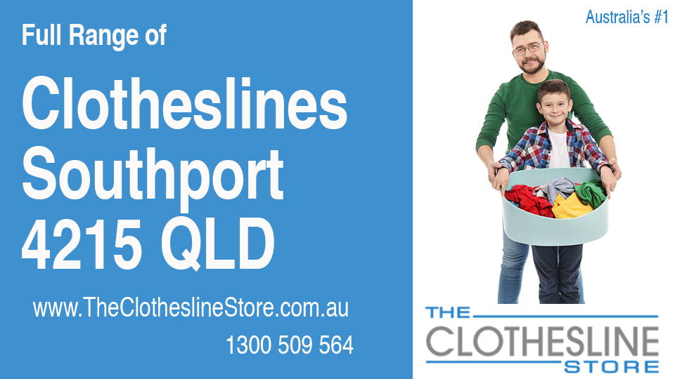 New Clotheslines in Southport Queensland 4215