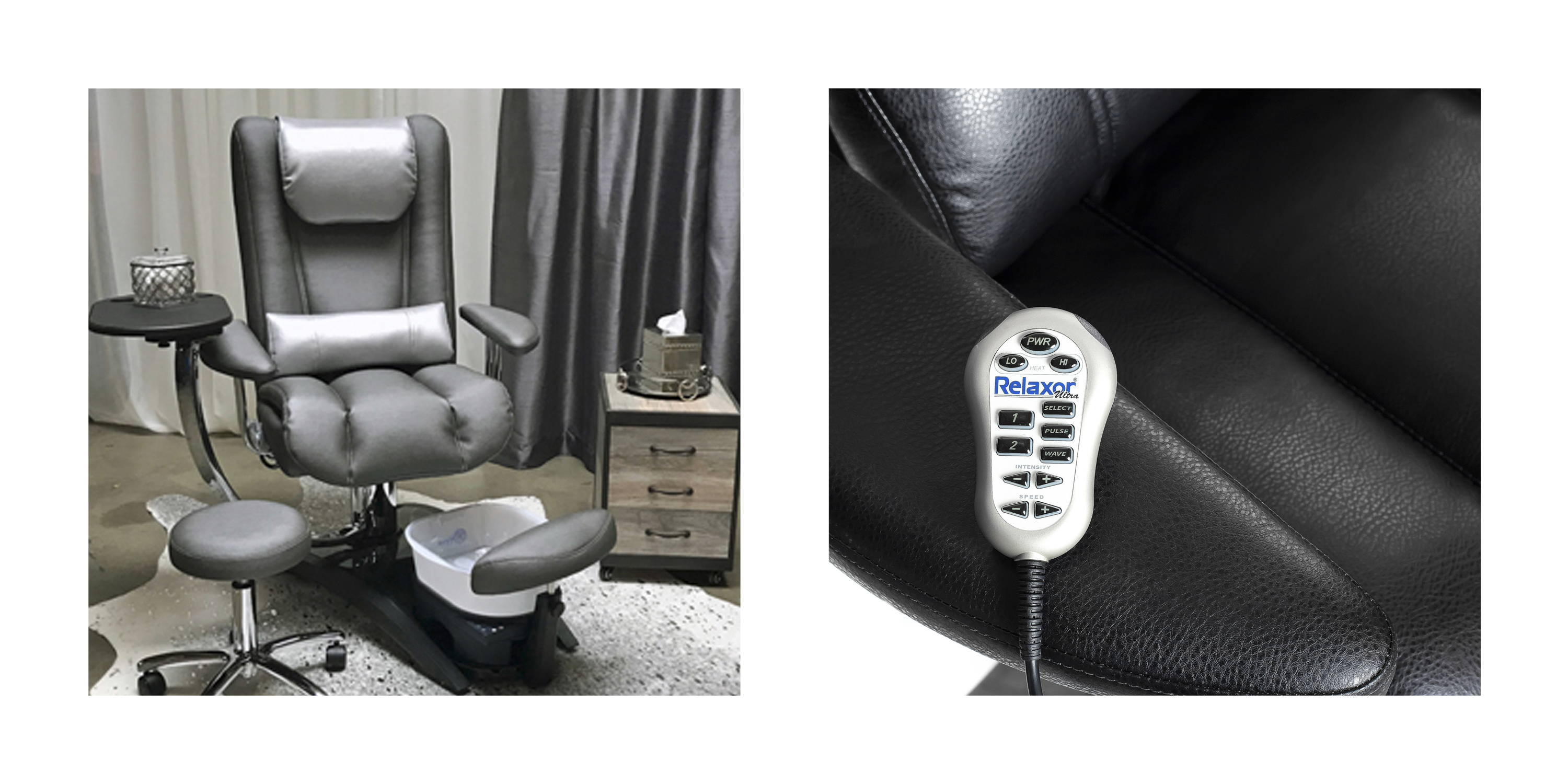 Embrace Pipe-less Pedicure Chair by Belava