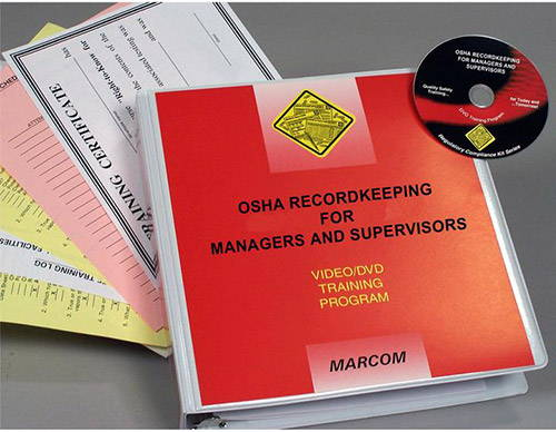 OSHA Recordkeeping For Managers and Supervisors DVD