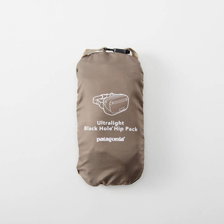 patagonia(パタゴニア)/ウルトラライト ブラックホール ミニヒップパック 1L/カーキ