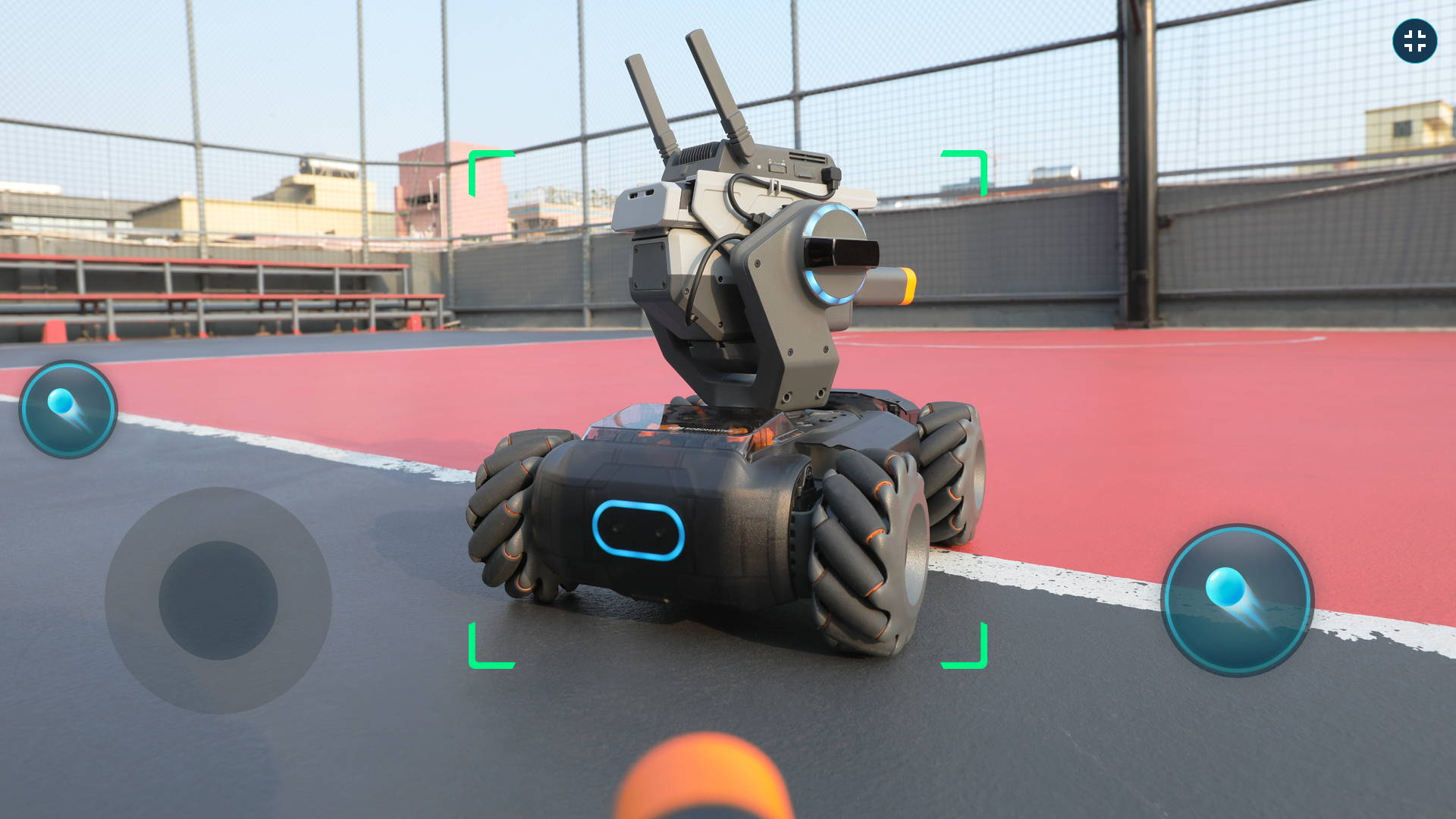 DJI RoboMaster S1  robot recognition