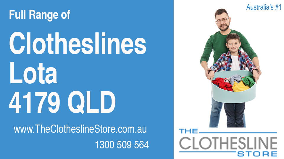 New Clotheslines in Lota Queensland 4179