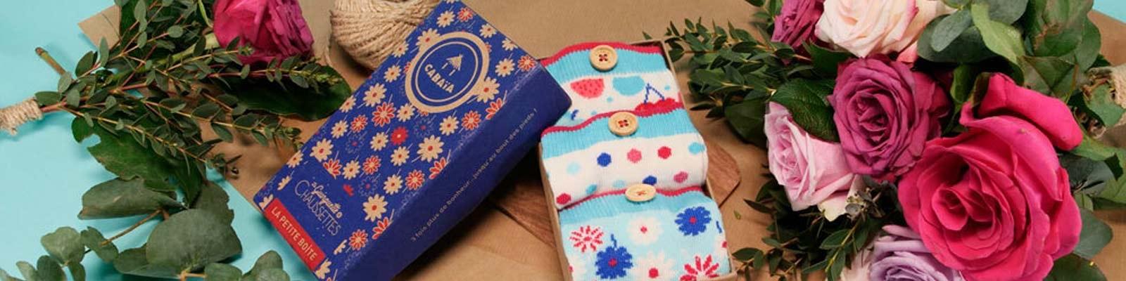 Pack de chaussettes inséparables pour la fête des mères
