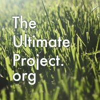 Logo The Ultimate Project. org ARIA professional official ultimate flying disc for the sport commonly known as 'ultimate frisbee'