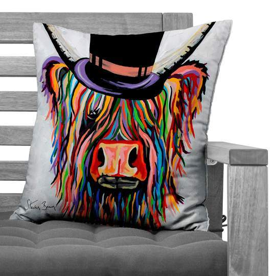 Steven Brown Cushion - Homeware collection