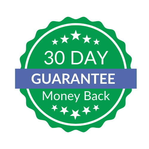30 day money back guarantee badge