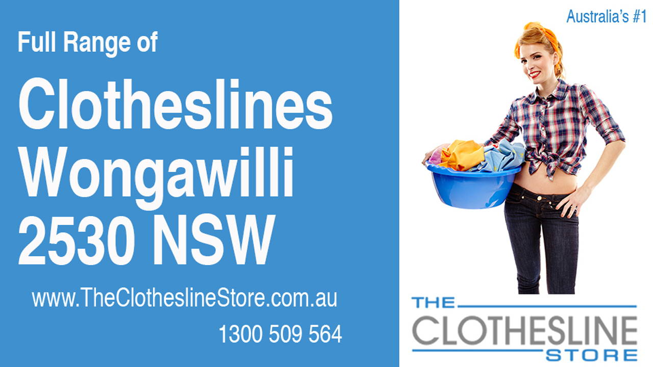 New Clotheslines in Wongawilli 2530 NSW
