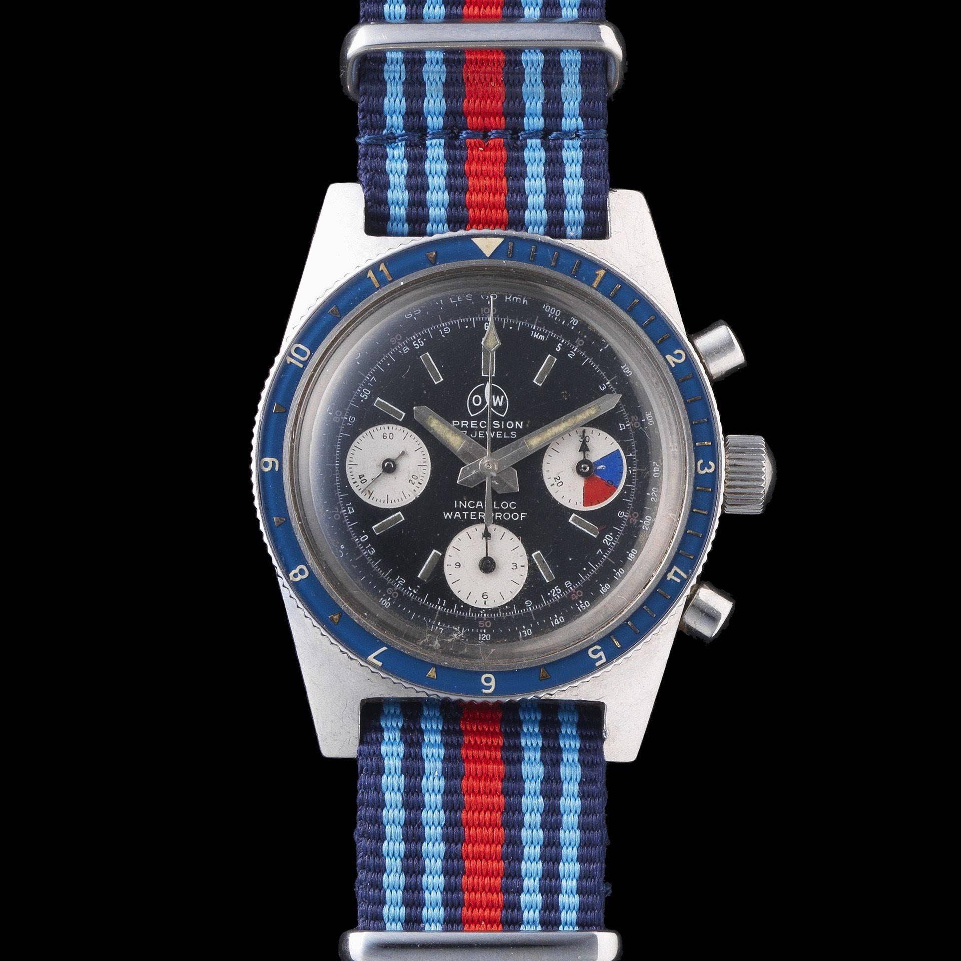 Ollech and Wajs Zurich 1956 OW vintage watch Swiss made ASTROCHRON OW2003