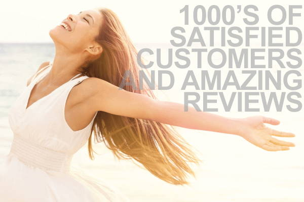 Des milliers de clients satisfaits et des commentaires incroyables