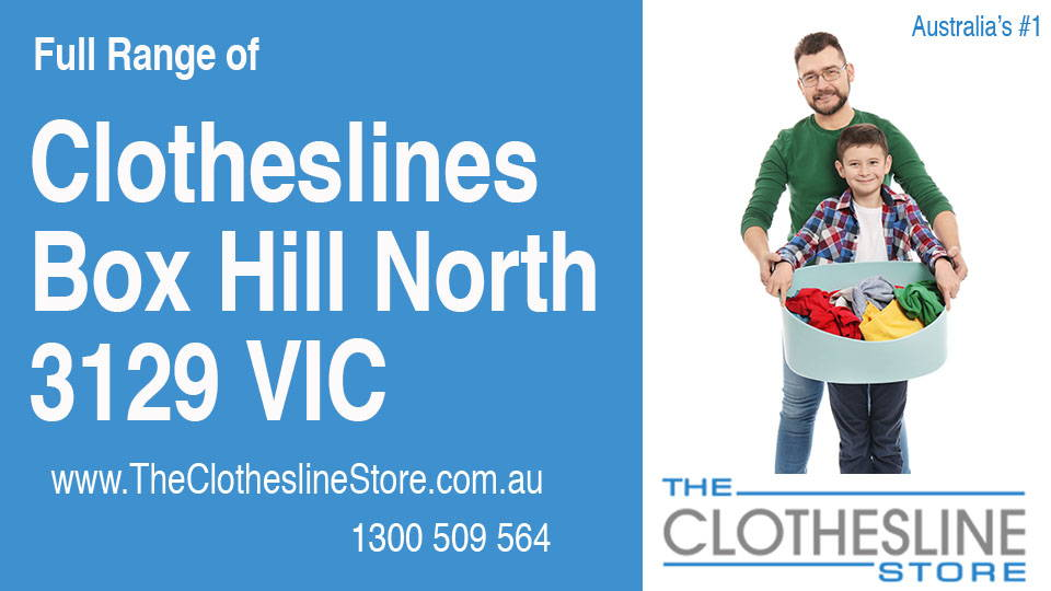 New Clotheslines in Box Hill North Victoria 3129