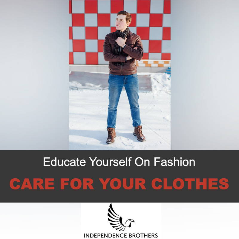 Care for your jacket