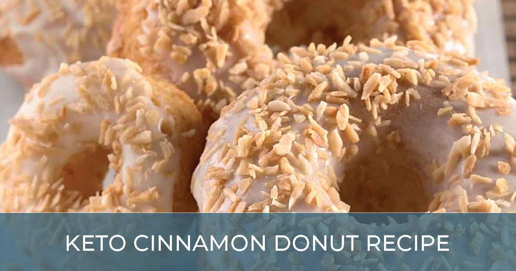 Keto Cinnamon Donut Recipe