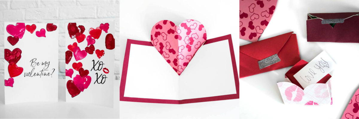 3 Easy Diy Valentine S Day Cards Homemade Valentines