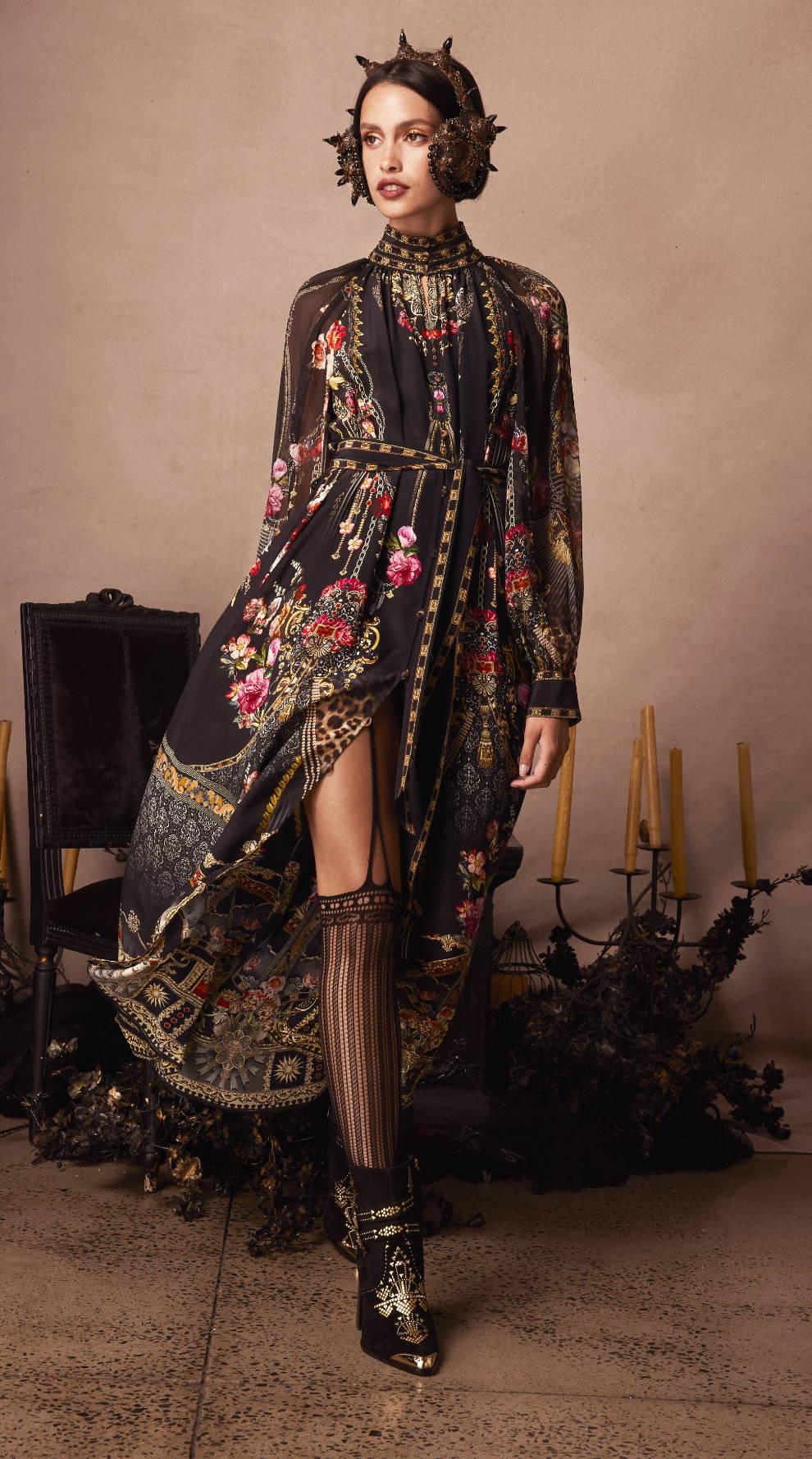 CAMILLA Gothic Goddess Dress