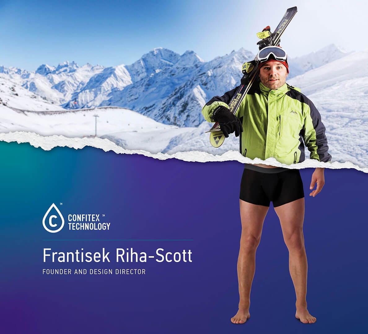 Frantisek Riha-Scott - Confitex founder and Design Director