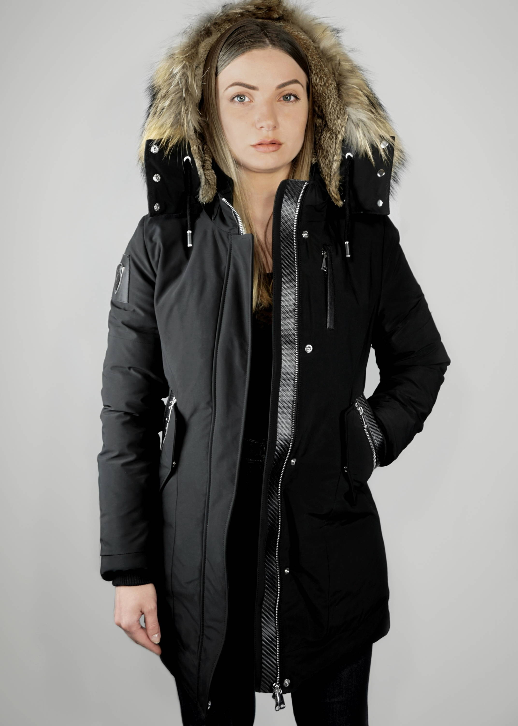 Carbonesque womens Faye parka