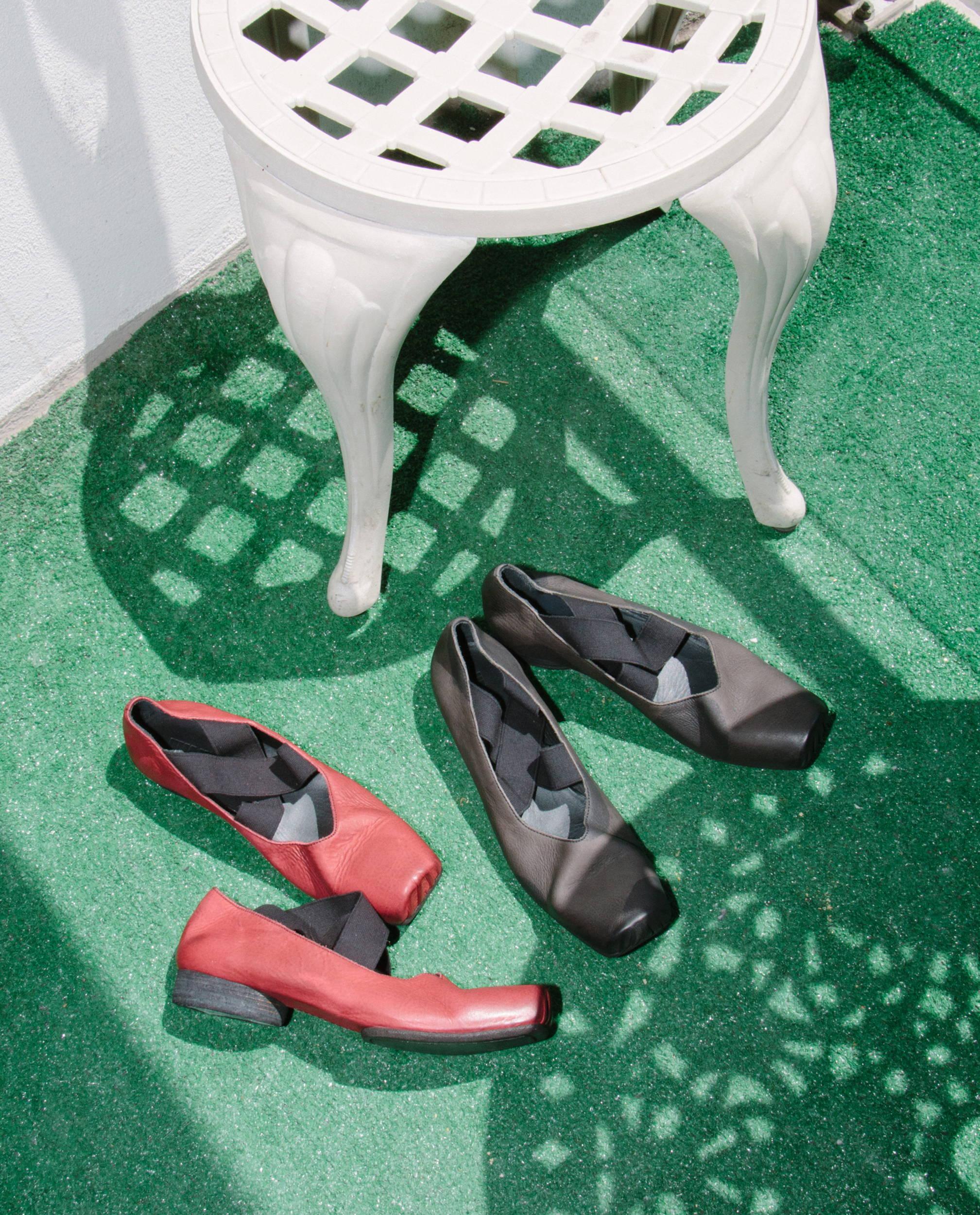 Uma Wang Ballet Shoes SS18 - Hlorenzo