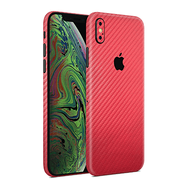 Iphone xs max carbon fiber skin
