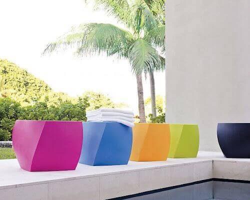 Heller Frank Gehry Collection Color Twist Cube
