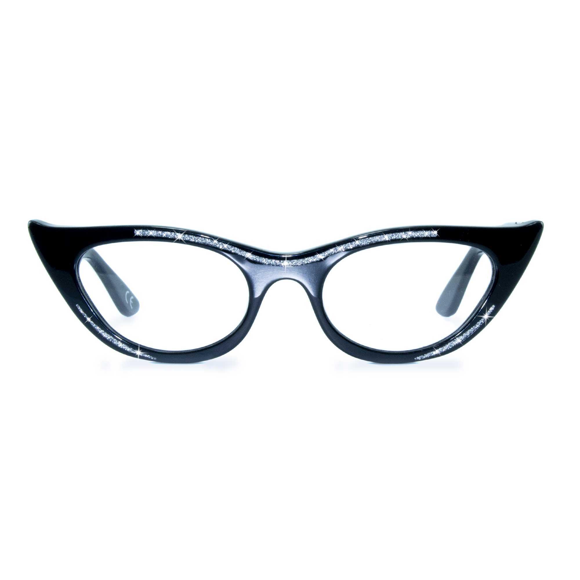 Joiuss lana black cat eye glasses