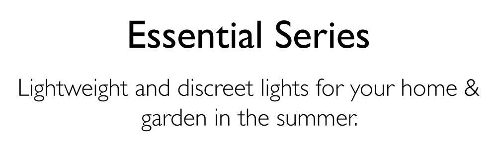 Essential Series Range