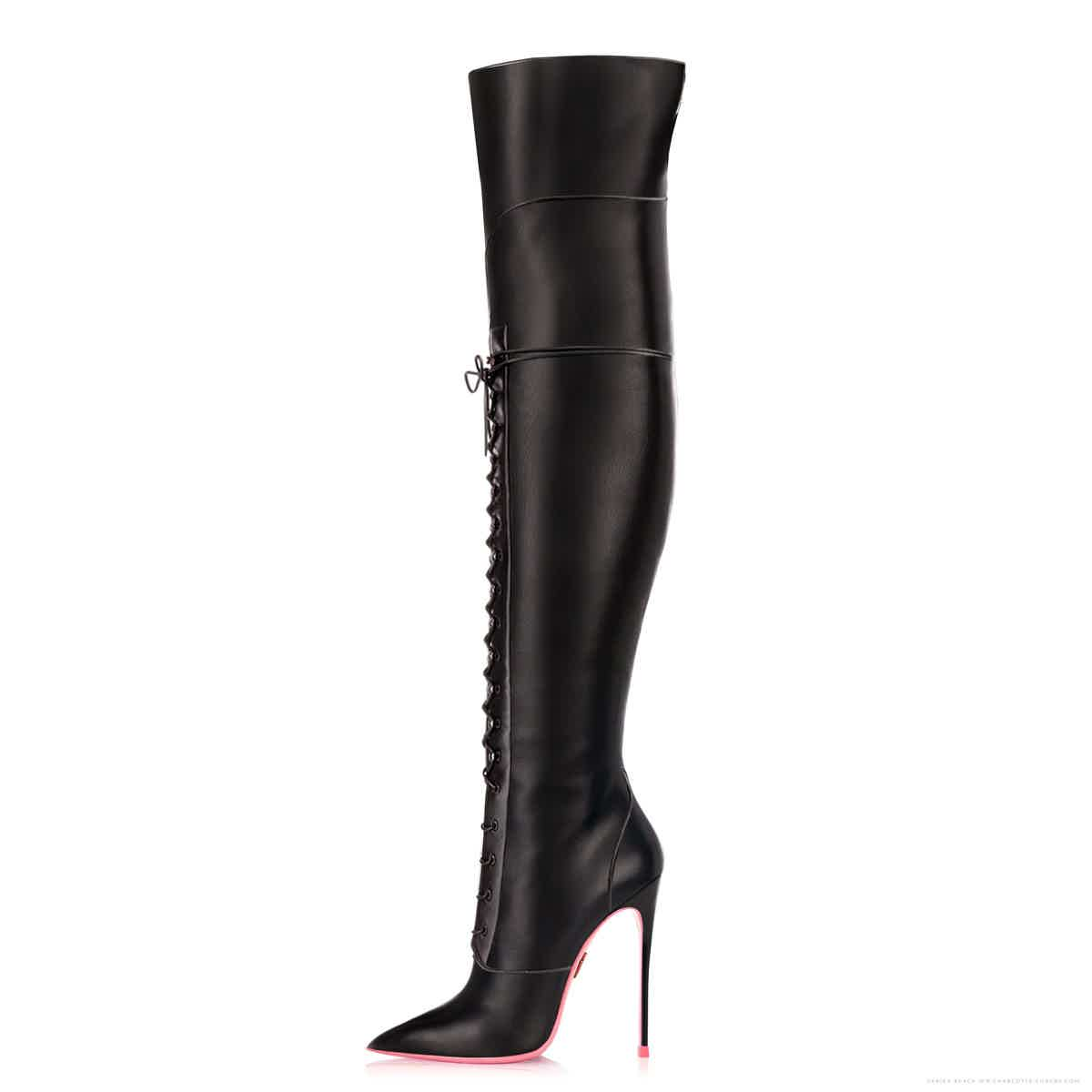 d2a6224d0ae Charlotte Luxury · High Heel Shoes   Boots · Custom Made