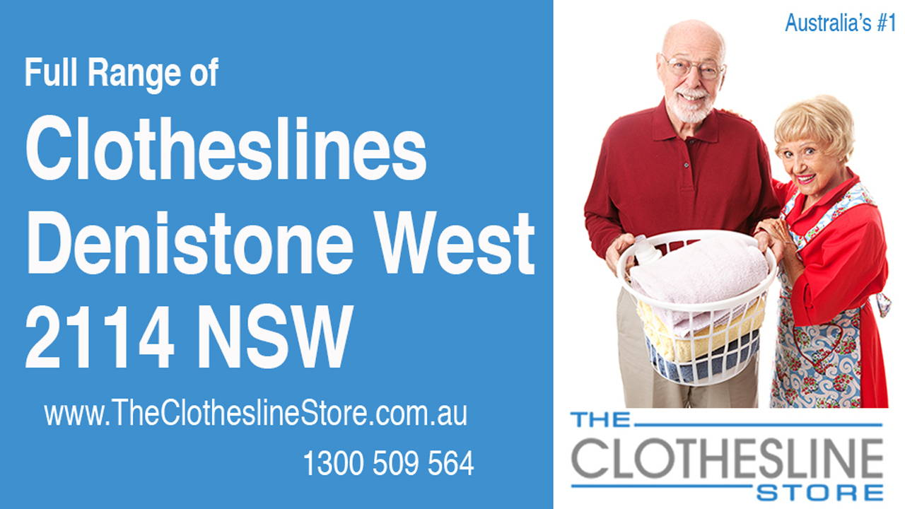 Clotheslines Denistone West 2114 NSW