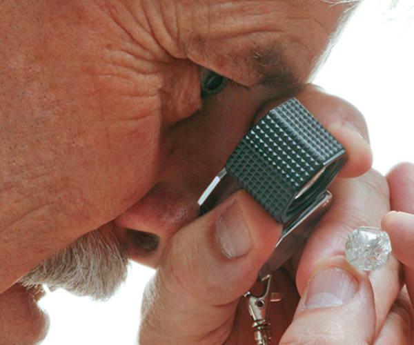 Examining a Diamond