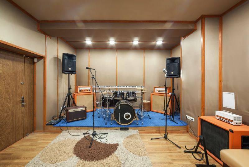 soundproof drum room
