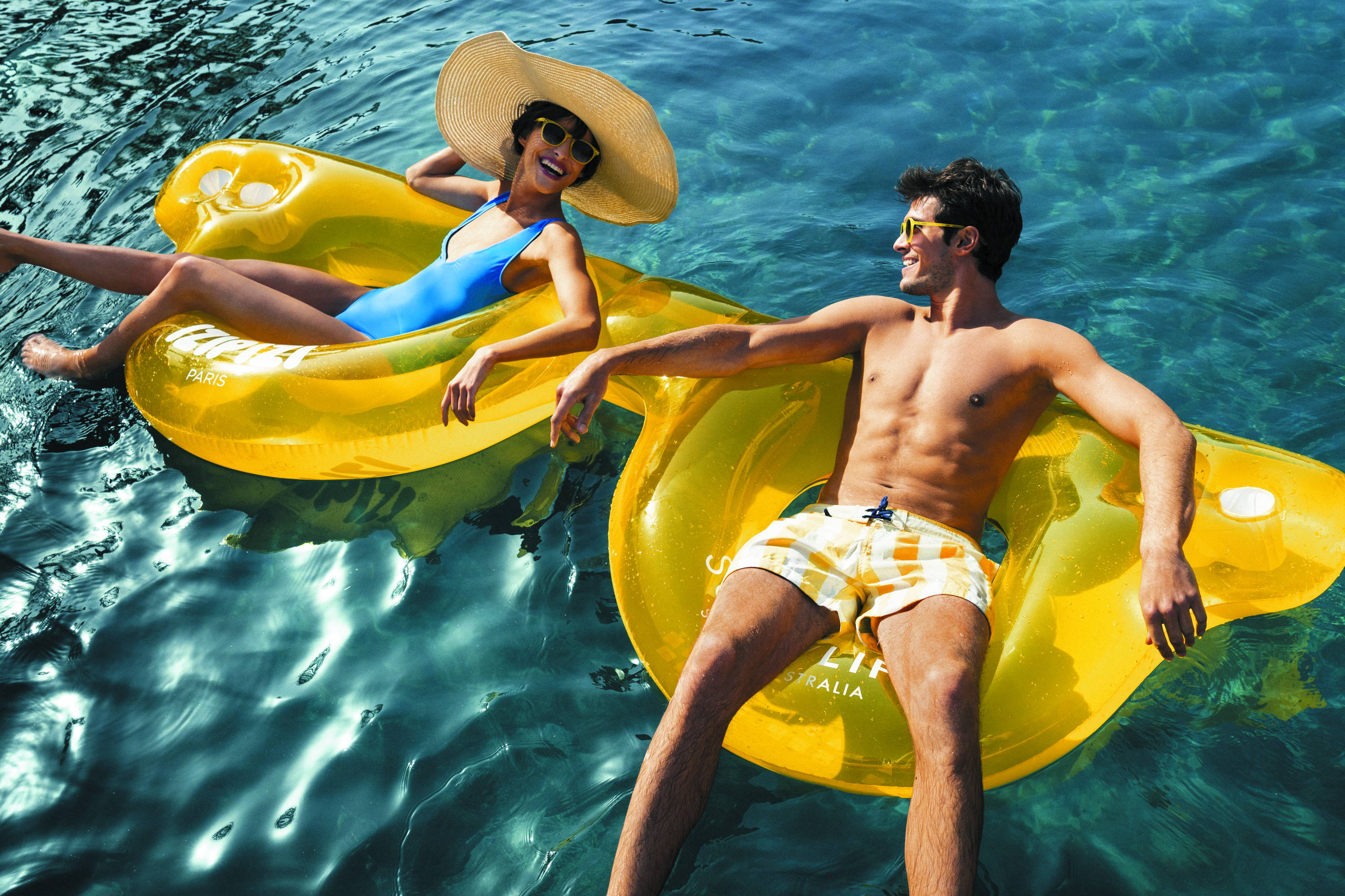 IZIPIZI x Sunnylife Collaboration Sunglasses Pool Floats