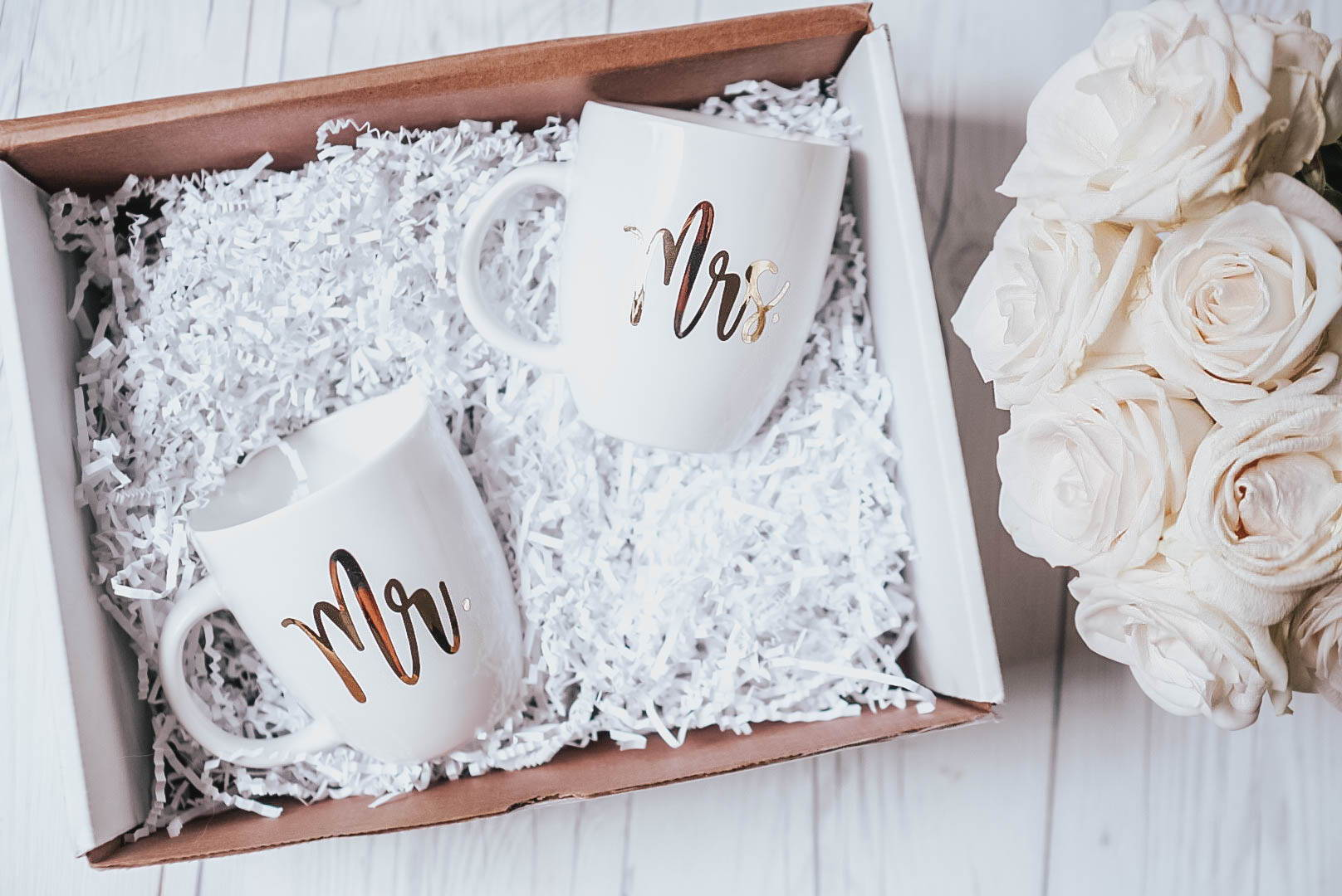 DIY wedding gifts with Craftables chrome adhesive vinyl