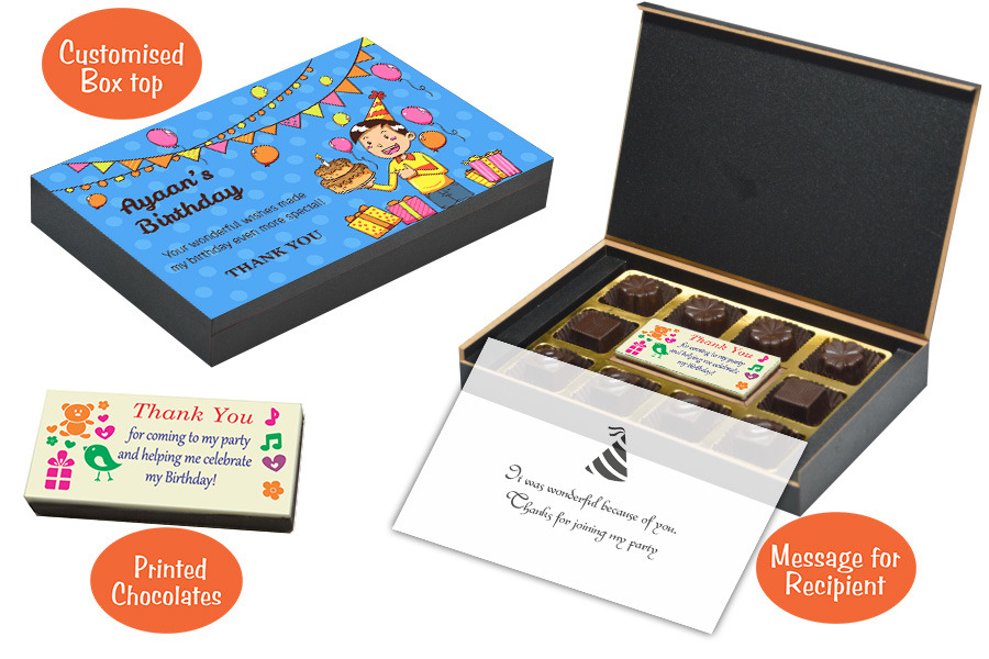 Boys Birthday Party Return Gifts CHOCOCRAFT