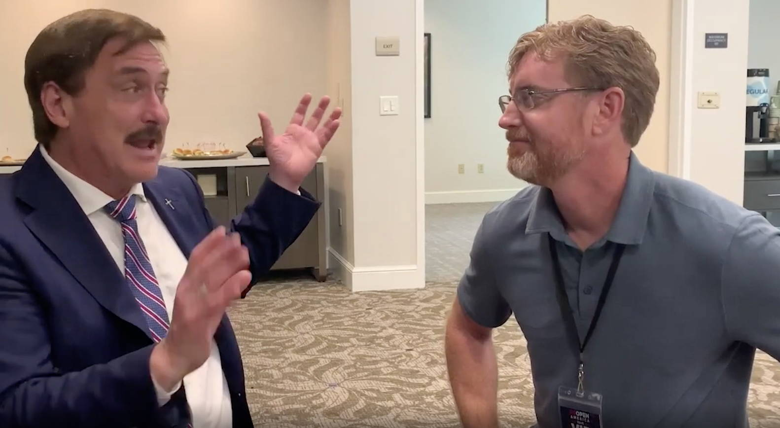 Image of Mike Lindell and Dr. Bryan Ardis