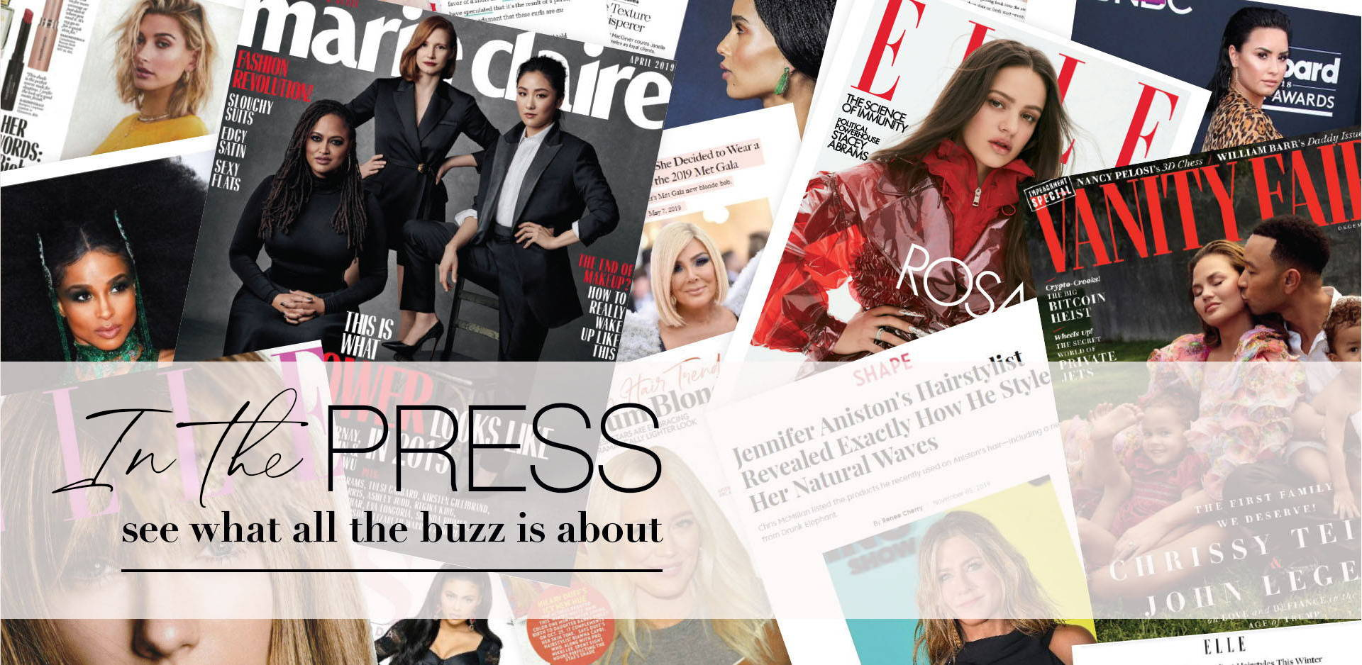 In the press - see what all the buzz is about