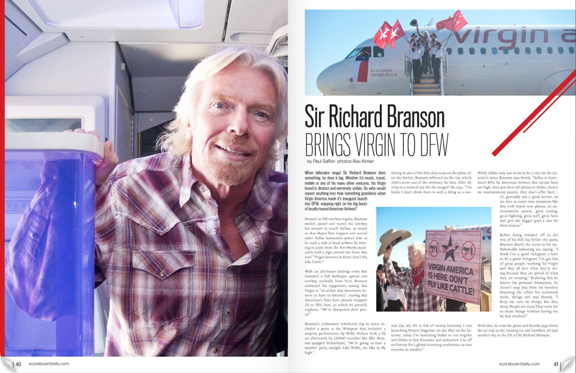Sir Richard Brandson - Media Production | Kinter Media