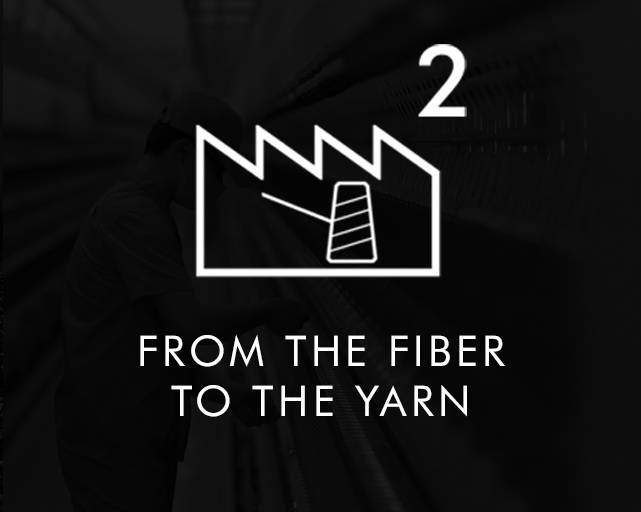 From the fiber to the yarn