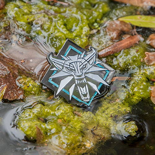 Photo of a Witcher pin