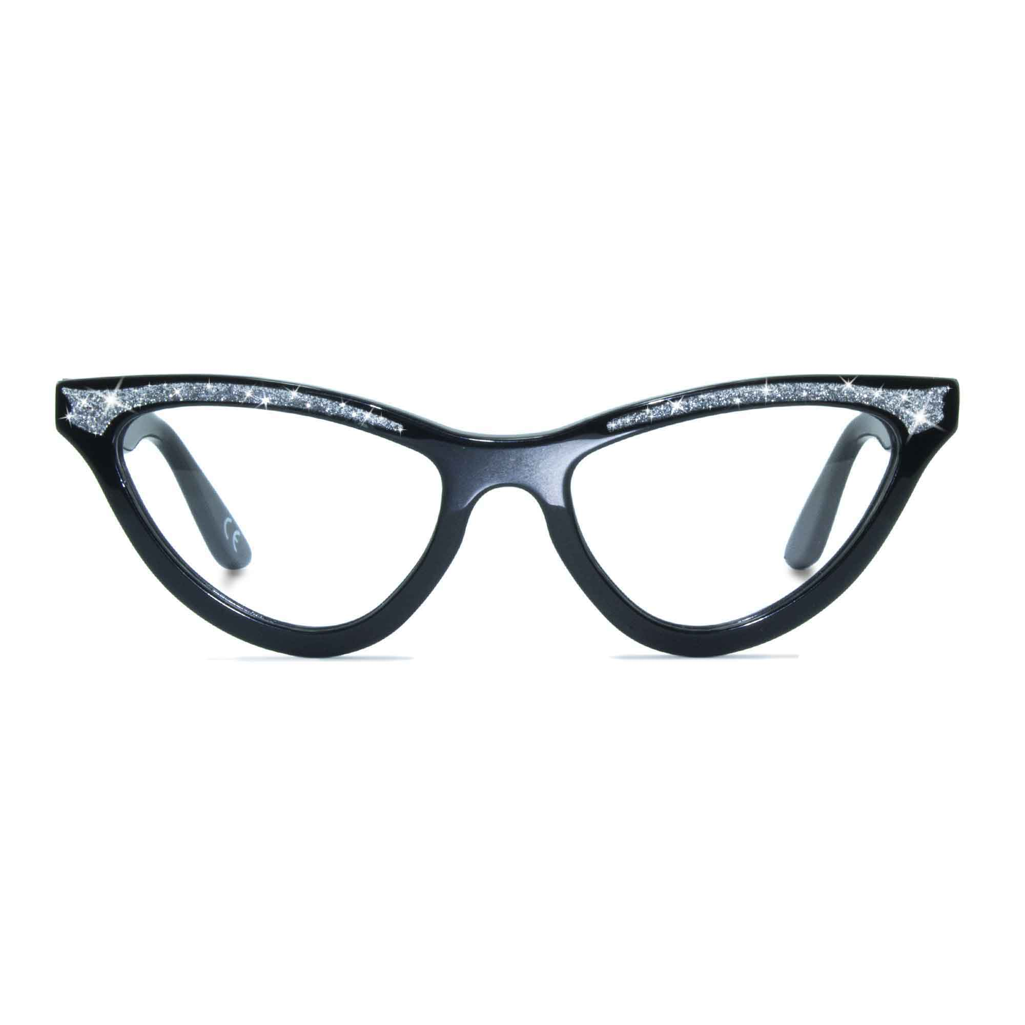 Joiuss maryloo black cat eye glasses