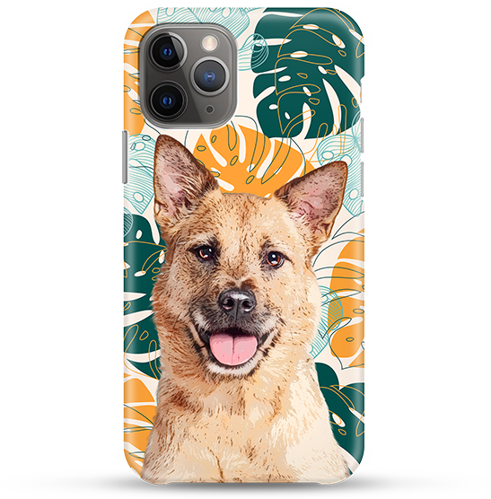 dog pop art custom phone cases
