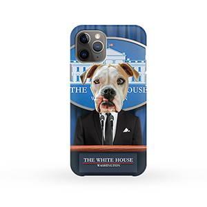 Custom pet portraits on phone cases