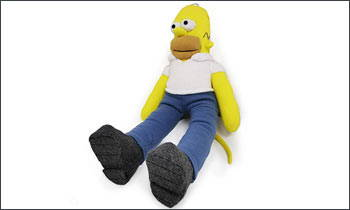 Sew Cute Sock Monkeys Homer Simpson Sock Monkey
