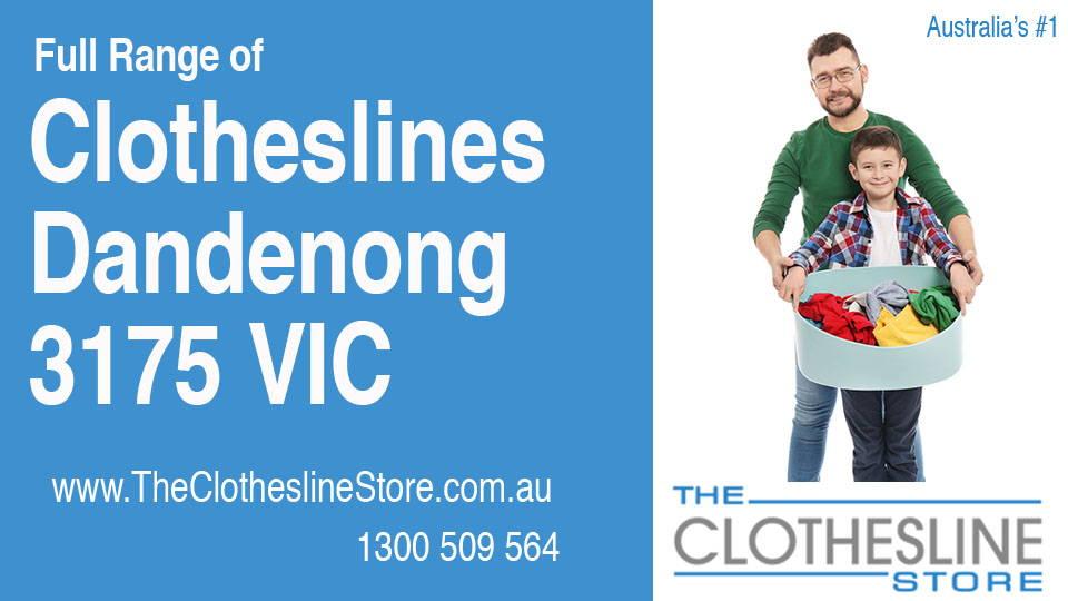 New Clotheslines in Dandenong Victoria 3175