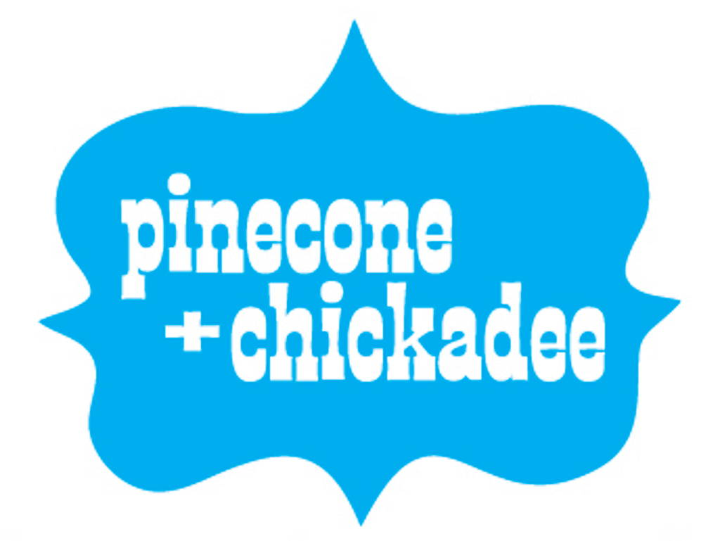 Pinecone and Chickadee