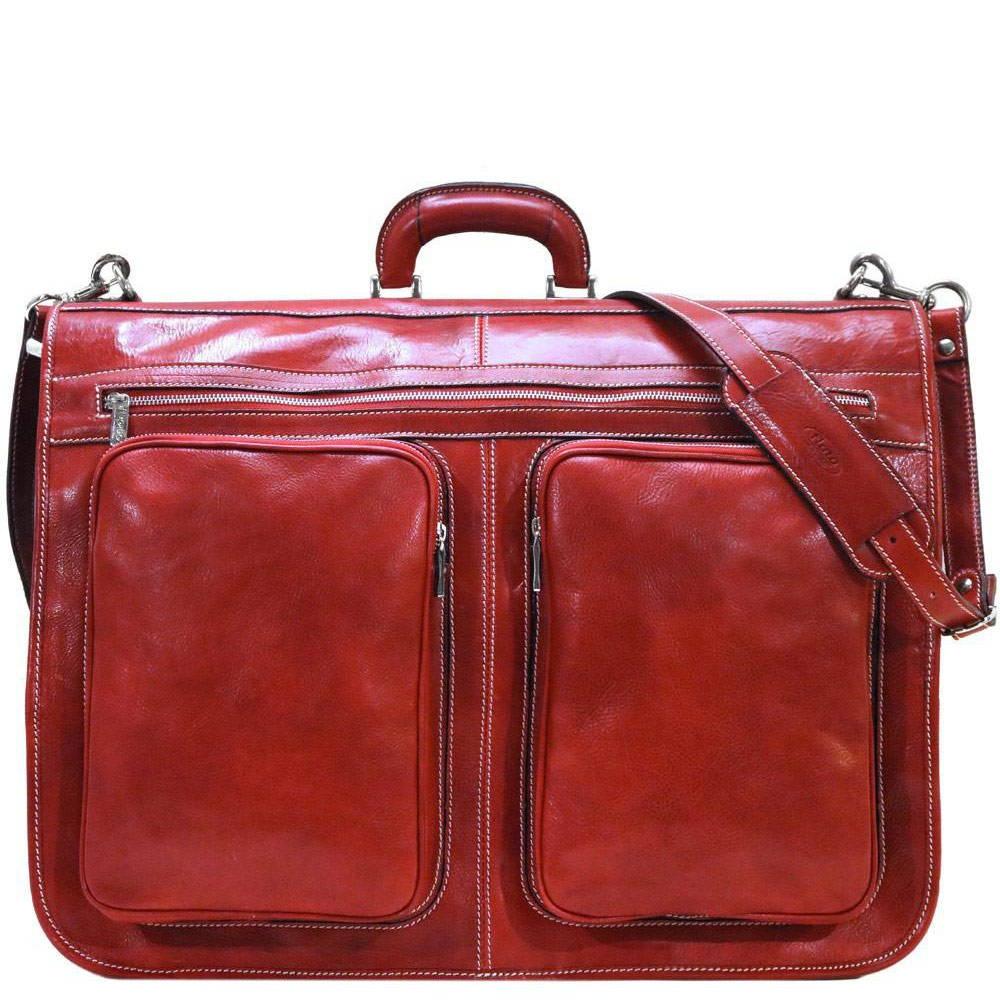 Italian Leather Garment Bags for women
