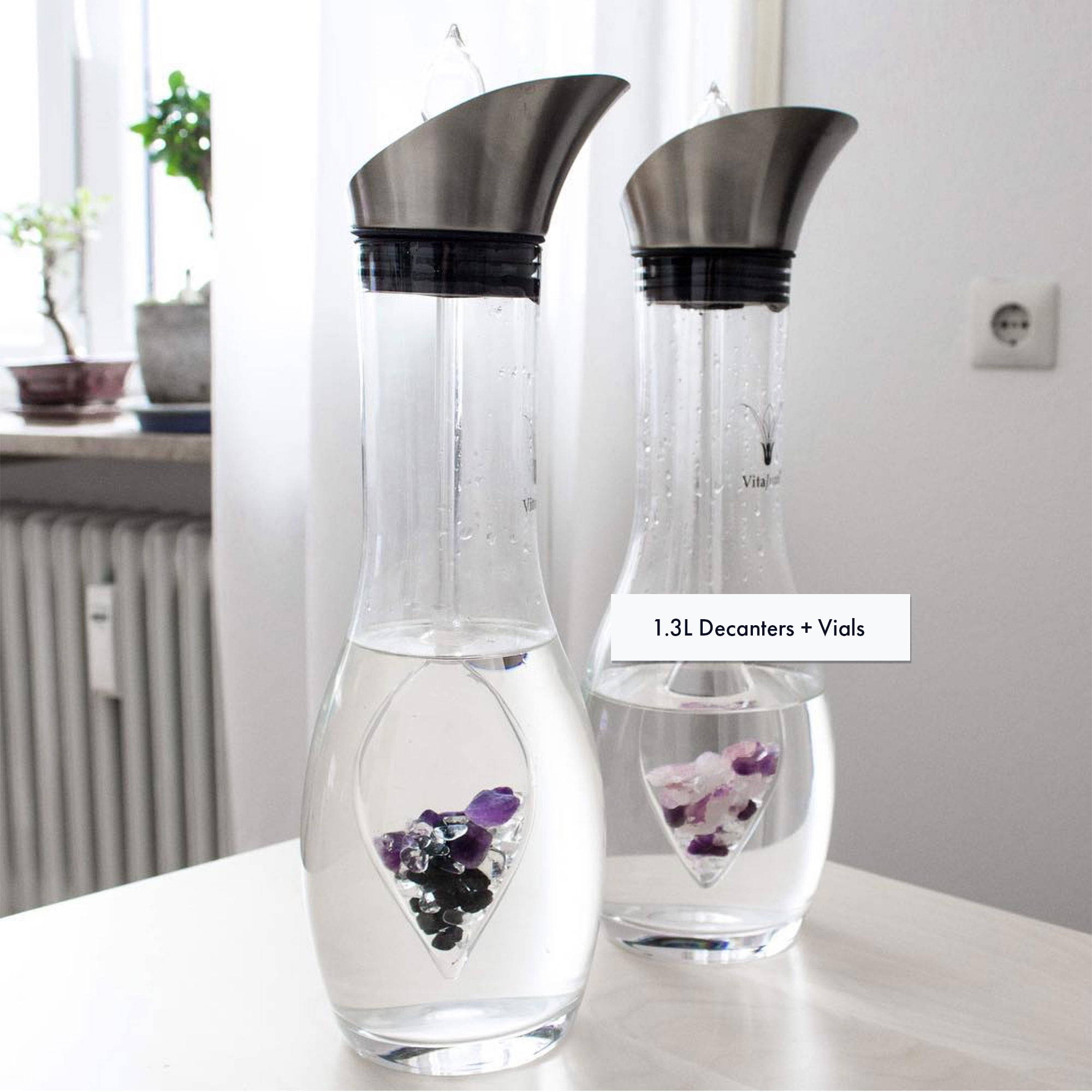 VitaJuwel 1.3L Decanter