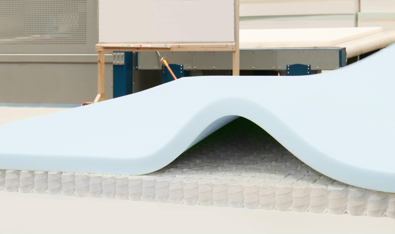 Helix Sleep manufacturing photo.