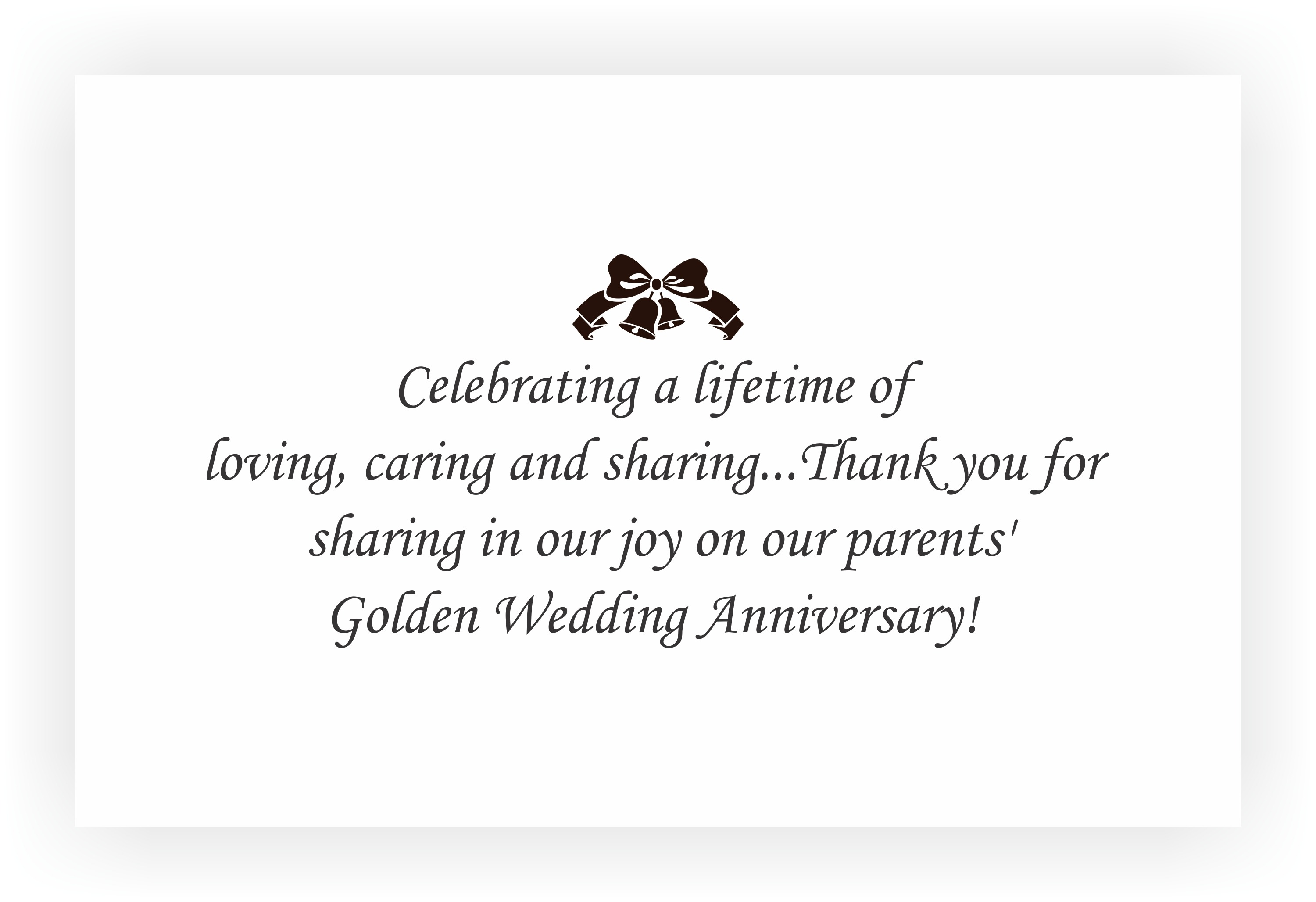 Wedding Return Gifts For Friends: 50th Marriage Anniversary Invitation & Return Gifts